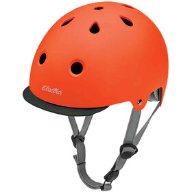 Electra Solid Color Bike Helmet tangerine matte